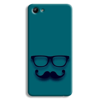 Cute mustache Blue Vivo Y83 Case