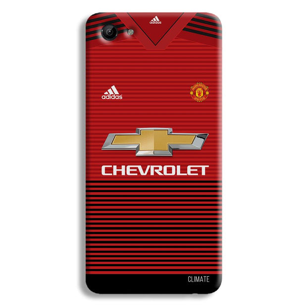 Manchester United Jersey Vivo Y83 Case
