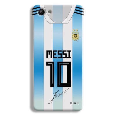 Messi Jersey Vivo Y81 Case