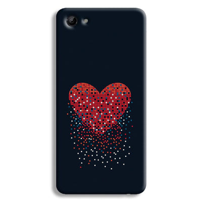 Sparkling Heart Vivo Y83 Case
