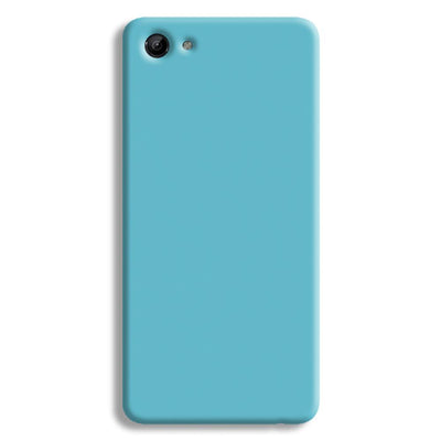 Aqua Blue Vivo Y83 Case