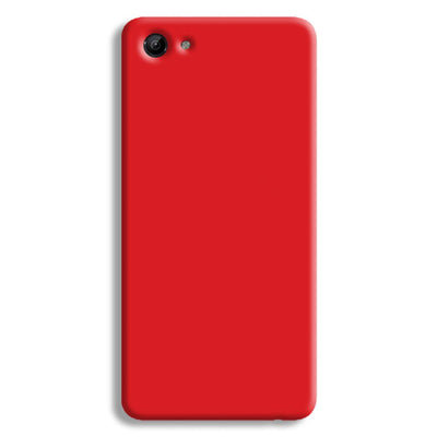 Bright Red Vivo Y83 Case