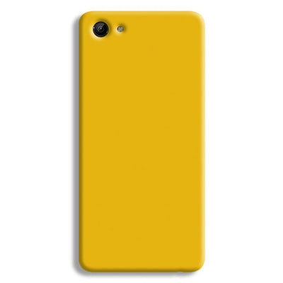 Yellow Crome Vivo Y81 Case