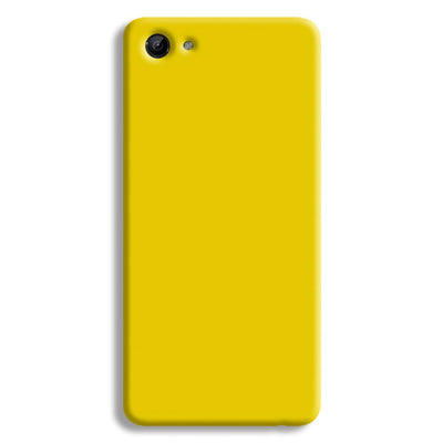 Yellow Shade Vivo Y81 Case