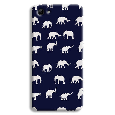 Elephant Pattern Vivo Y81 Case