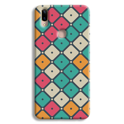 Colorful Tiles with Dot Vivo Y85 Case