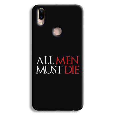 ALL MEN MUST DIE Vivo Y85 Case