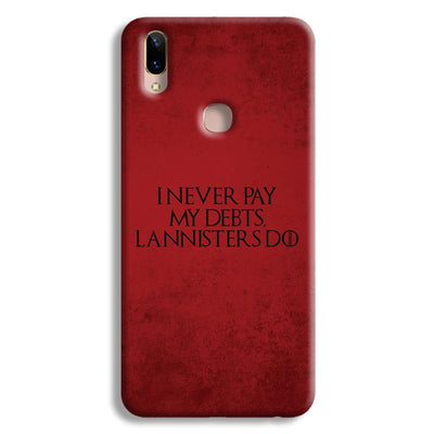 I NEVER PAY MY DEBTS Vivo Y85 Case