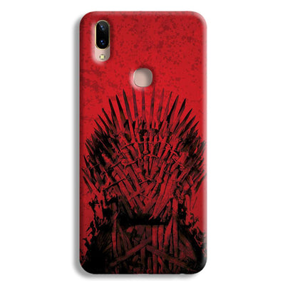 Red Hot Iron Thrones Vivo V9 Case