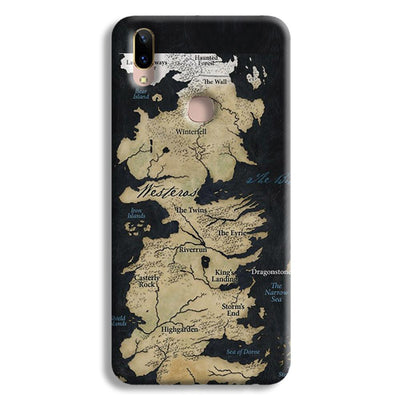 Game of Thrones Map Vivo Y85 Case