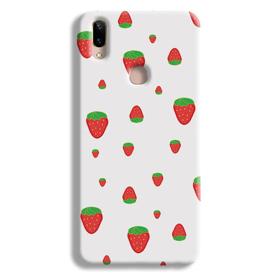 Strawberry Vivo V9 Case