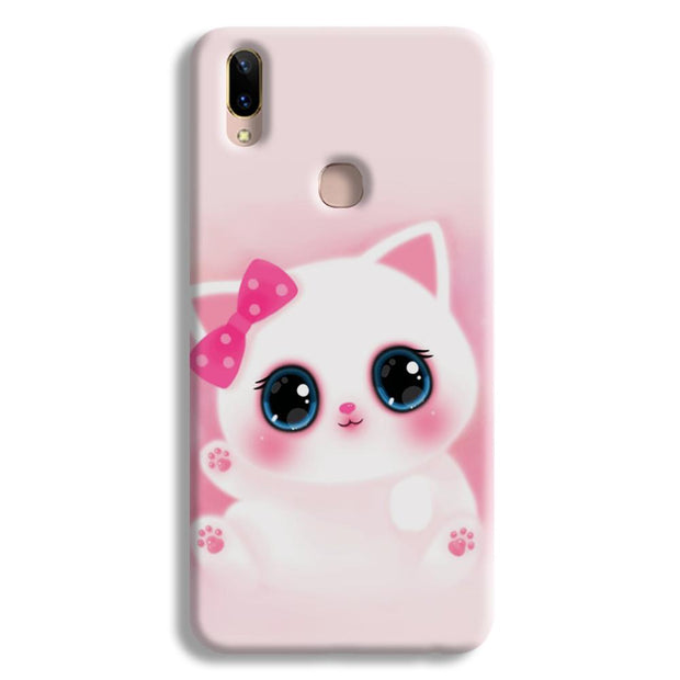 Pink Cat Vivo Y85 Case