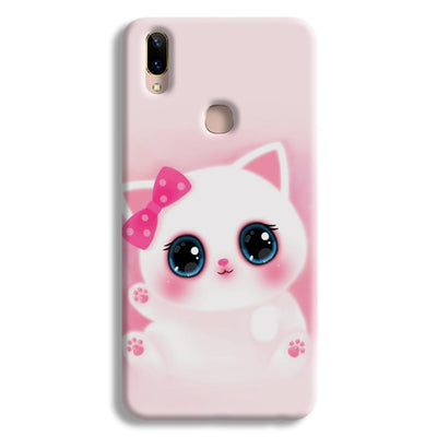 Pink Cat Vivo V9 Case