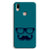 Cute mustache Blue Vivo Y85 Case
