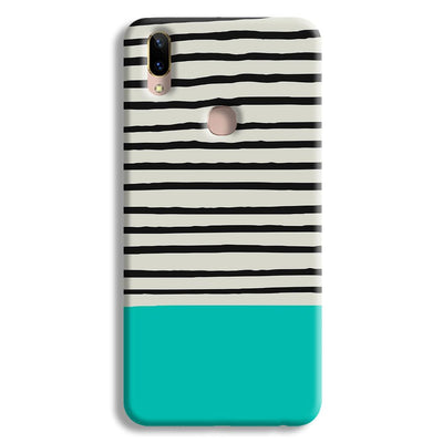 Aqua Stripes Vivo V9 Case