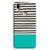 Aqua Stripes Vivo Y85 Case