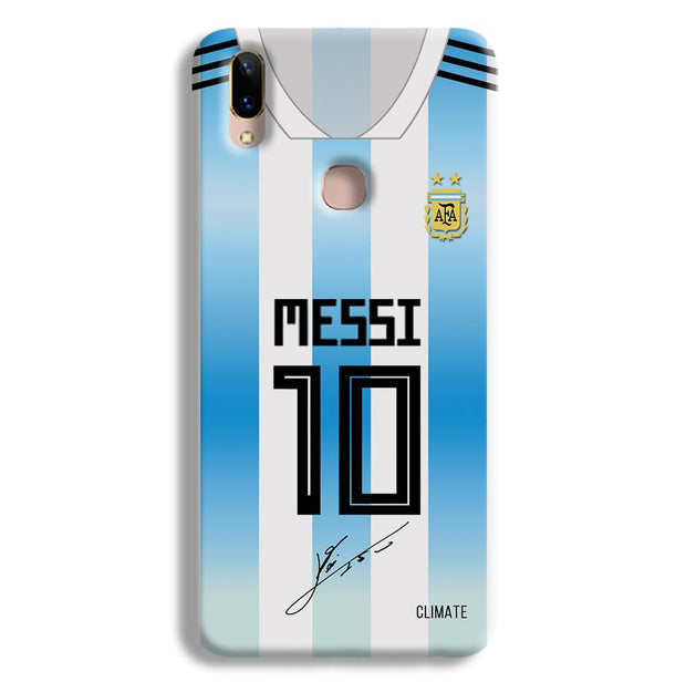 Messi Jersey Vivo V9 Case