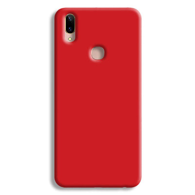 Light Red Vivo V9 Case