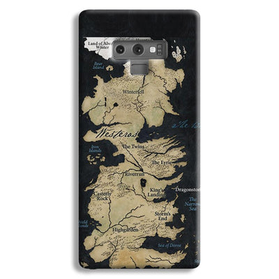 Game of Thrones Map Samsung Galaxy Note 9 Case