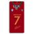 Ronaldo Jersy Samsung Galaxy Note 9 Case