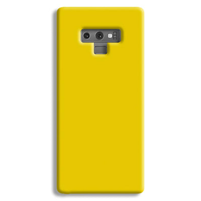 Yellow Shade Samsung Galaxy Note 9 Case