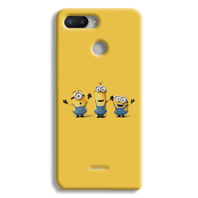 Three Minions Redmi 6 Case
