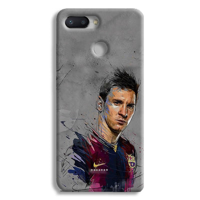Messi Grey Redmi 6 Case