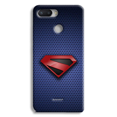 Superman Blue Redmi 6 Case