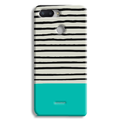 Aqua Stripes Redmi 6 Case