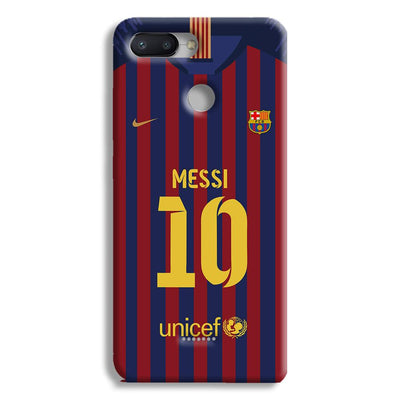 Messi (FC Barcelona) Jersey Redmi 6 Case
