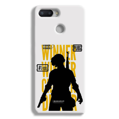 Pubg Winner Winner Redmi 6 Case