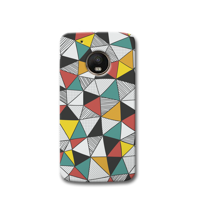 Triangle Abstract Pattern Moto G5s Case