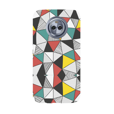 Triangle Abstract Pattern Moto X4 Case