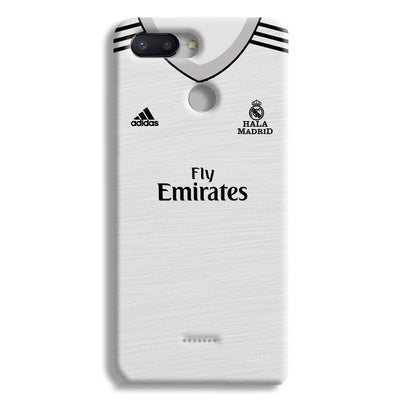 Real Madrid Home Redmi 6 Case