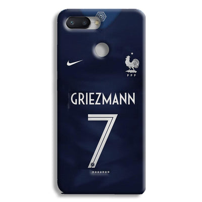 Griezmann France Jersey Redmi 6 Case