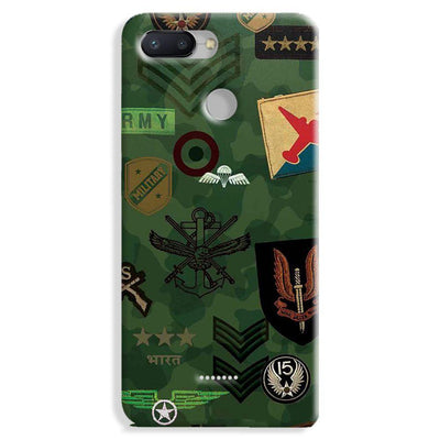 Indian Army Redmi 6 Case