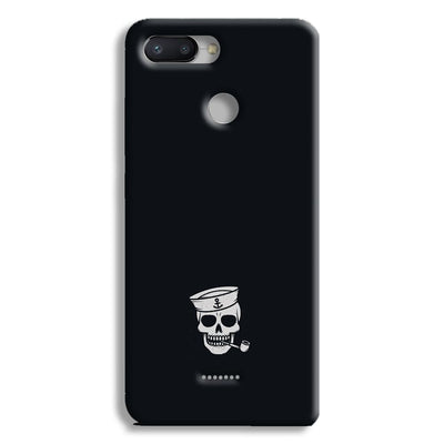 Smoking Skull Redmi 6 Case