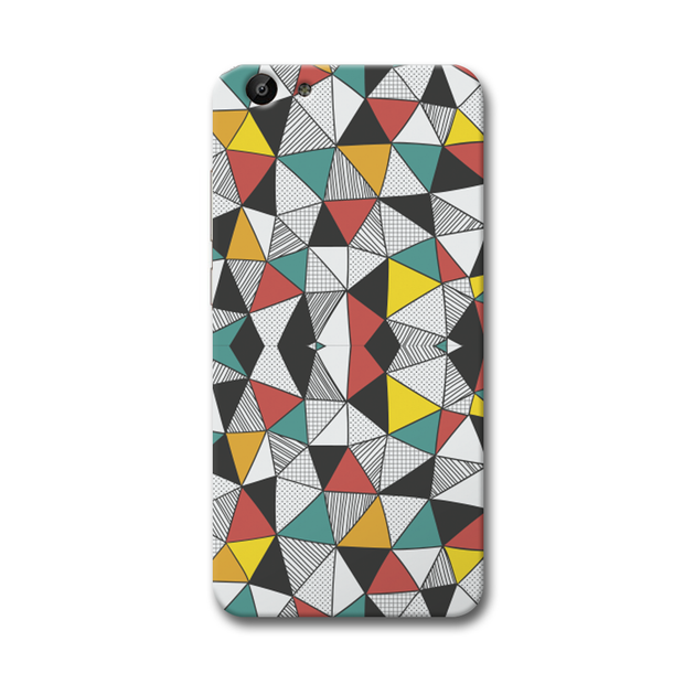 Triangle Abstract Pattern Vivo Y69 Case