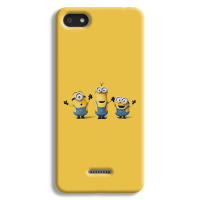 Three Minions Redmi 6A Case