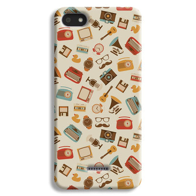 Vintage Elements Pattern Redmi 6A Case