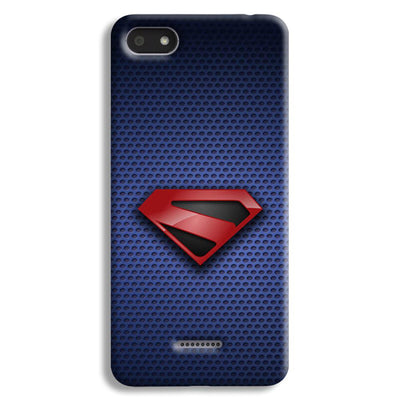 Superman Blue Redmi 6A Case