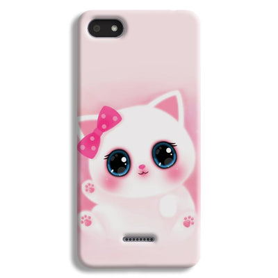 Pink Cat Redmi 6A Case