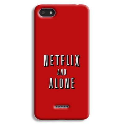 Netflix and Alone Redmi 6A Case