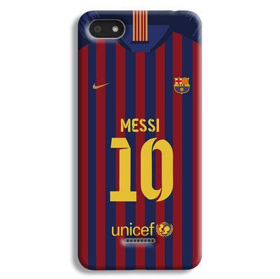 Messi (FC Barcelona) Jersey Redmi 6A Case