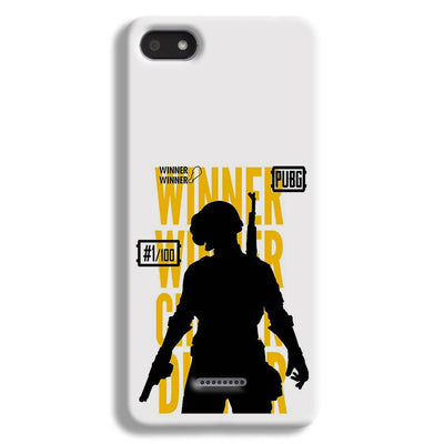 Pubg Winner Winner Redmi 6A Case