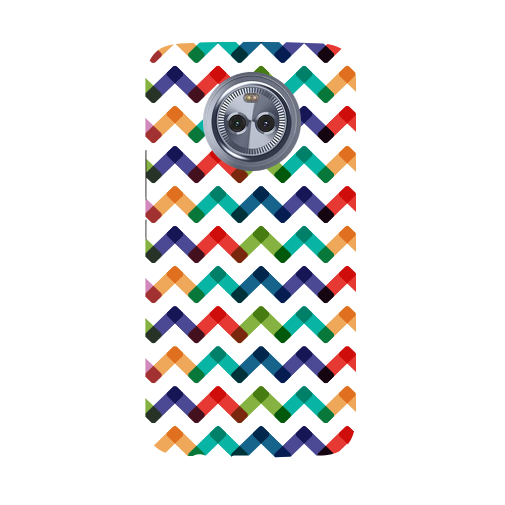 Colors Chevron Moto X4 Case