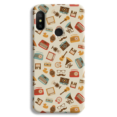Vintage Elements Pattern Redmi A2 Lite Case