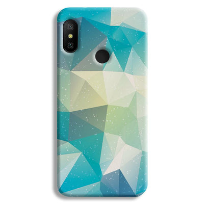 Tiles Mint Redmi A2 Lite Case