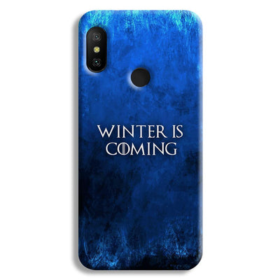 Winter is Coming Redmi 6 Pro Case