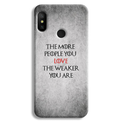 The More People Love You Redmi 6 Pro Case